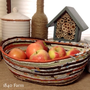 1840 Farm Harvest Basket