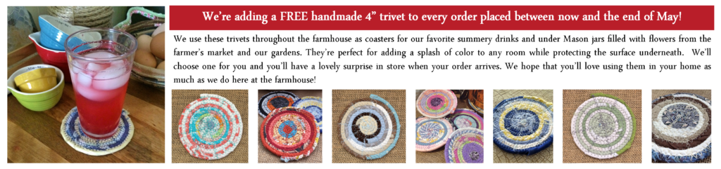 May Promo Free Trivet Collage Header 300