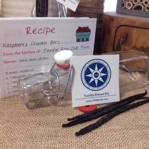 Vanilla Extract Kit from 1840 Farm on Etsy