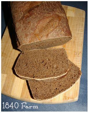 Mocha Bread at 1840 Farm