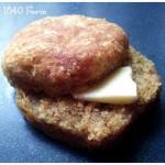 Wholegrain Buttermilk Biscuit at 1840 Farm
