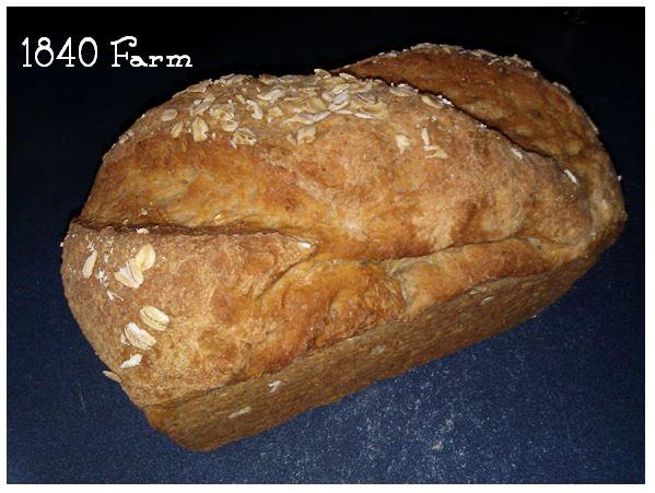 Oatmeal Bread at 1840 Farm