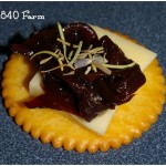 Herbes De Provence with Caramelized Onion Jam at 1840 Farm