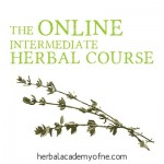 The Online Intermediate Herbal Course at The Herbal Academy of New England