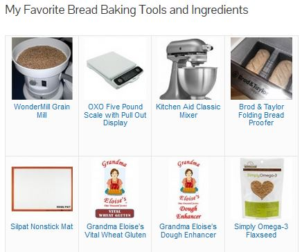 My Favorite Bread Baking Tools and Ingredients