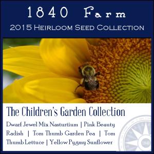 The Children's Heirloom Garden Collection