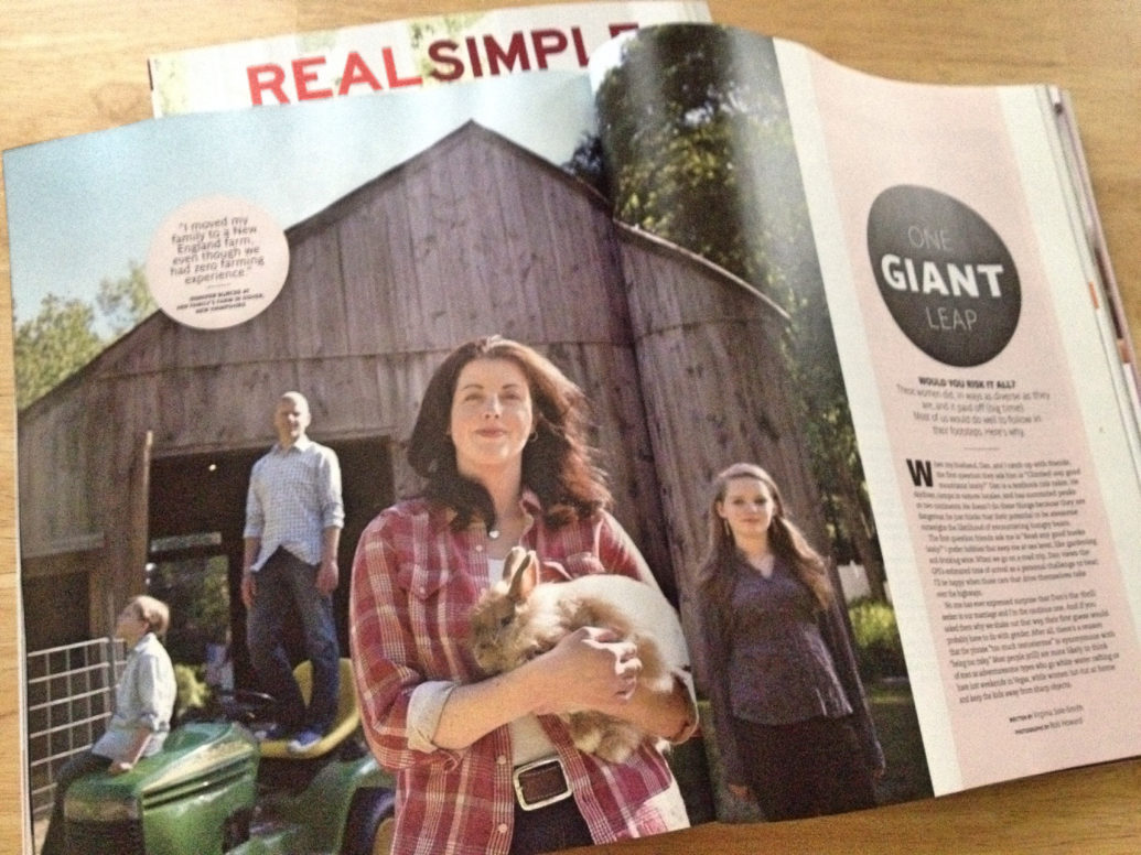 1840 Farm in Real Simple Magazine