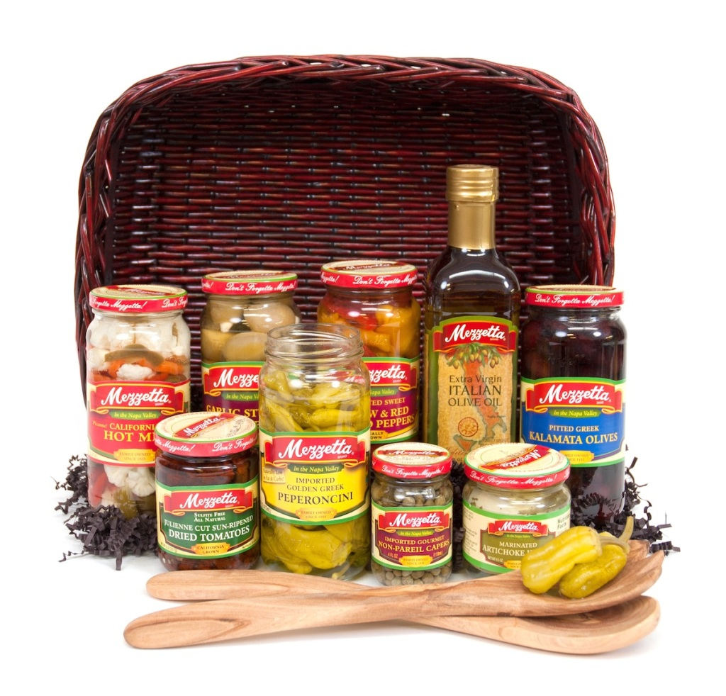 Mezzetta Favorites Holiday Gift Basket