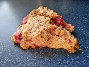 Strawberry Oat Scone at 1840 Farm
