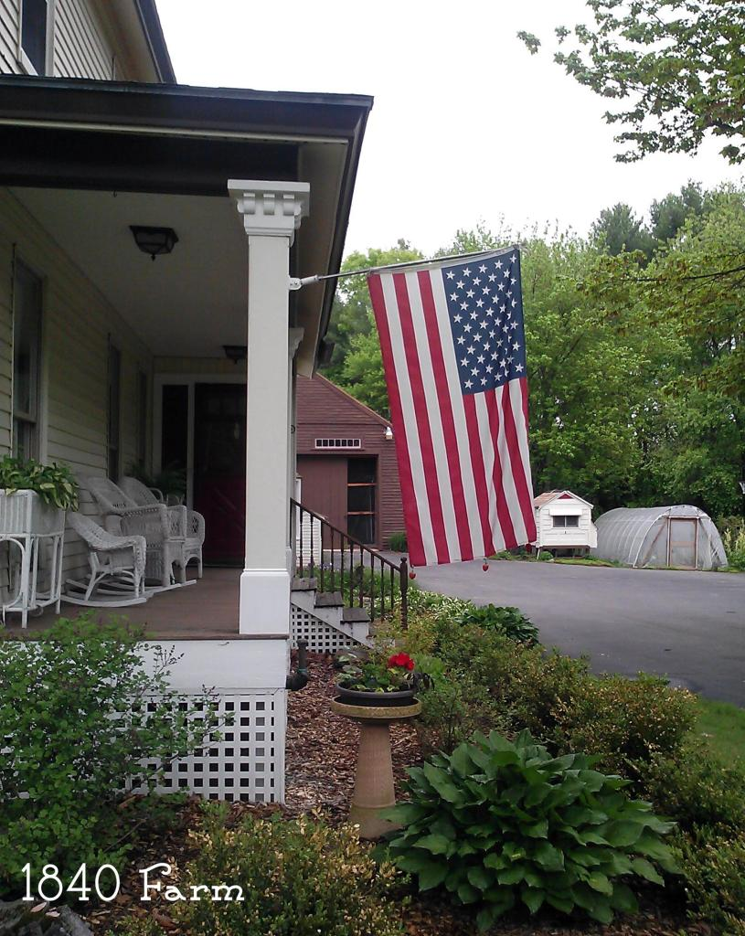 1840 Farm Flag