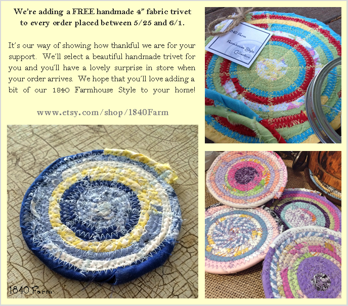 FREE Trivet Collage