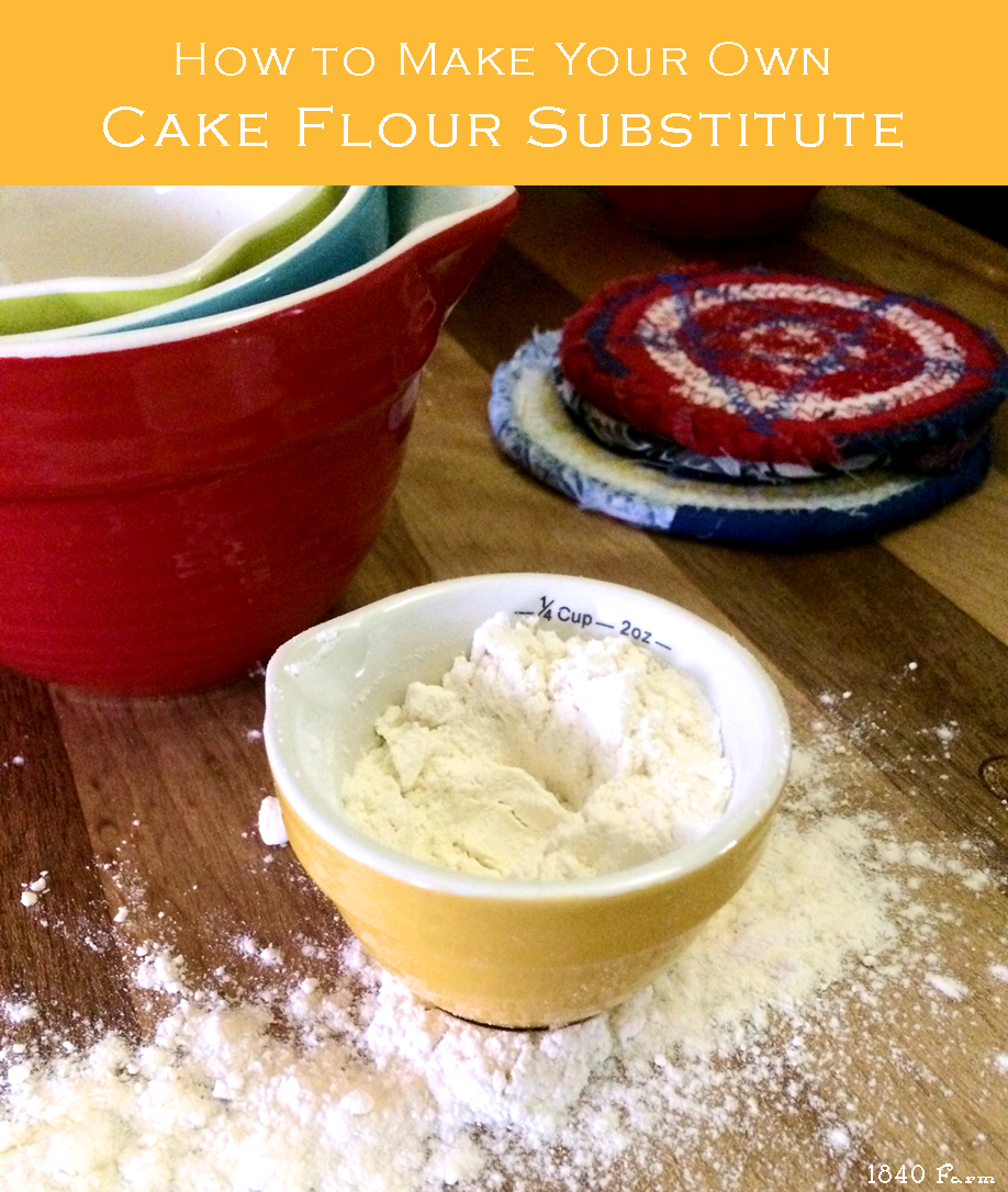 MakeYourOwnCakeFlourSubstituteBranded