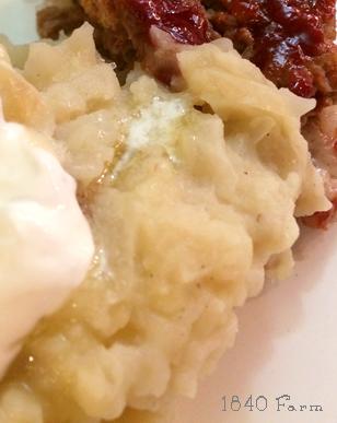 Velvety Mashed Potatoes » 1840farm.com