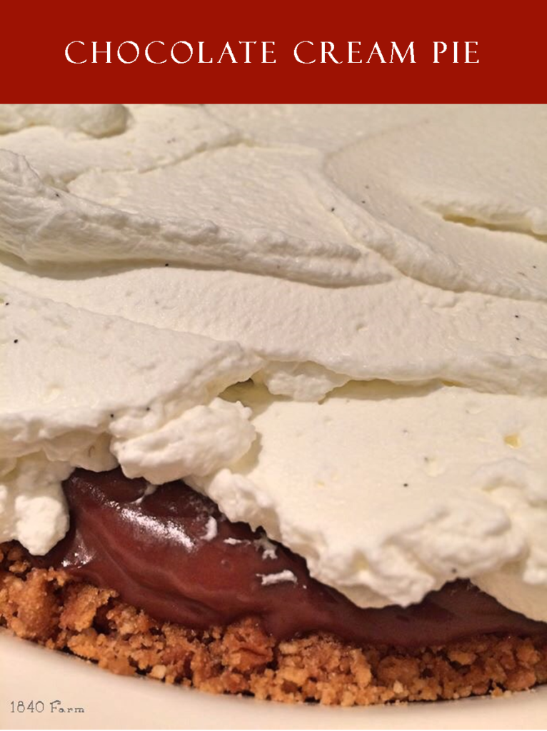 Chocolate Cream Pie Branded