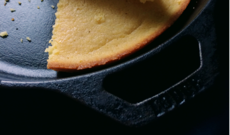 Cast Iron Skillet Cornbread at 1840 Farm